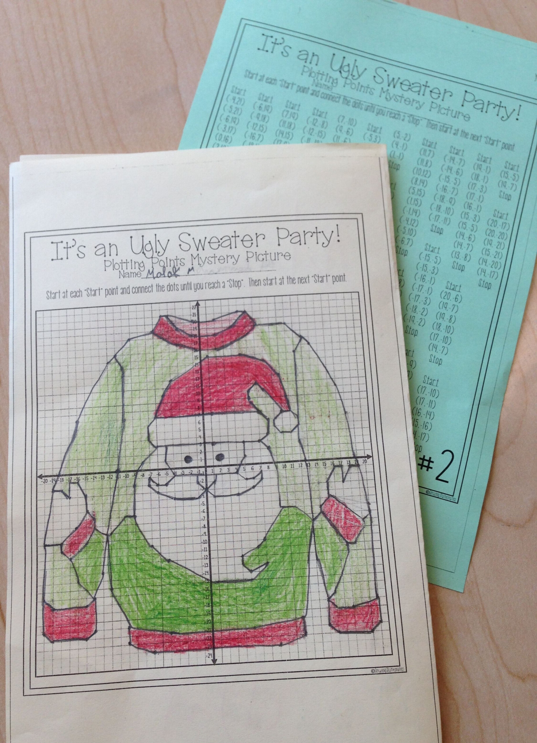 This Was Such A Fun Christmas Math Activity For My Middle
