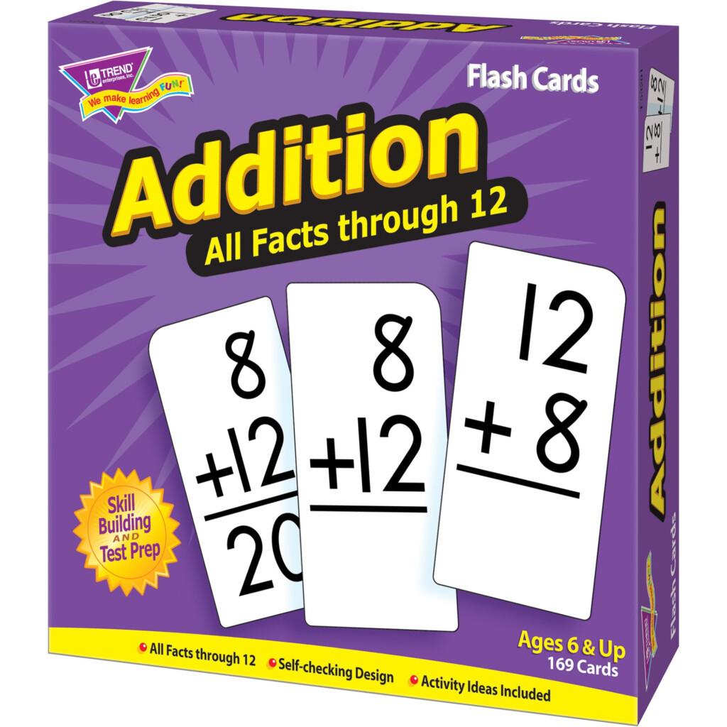 Trend Enterprises Inc Flash Cards All Facts 0 12