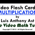 Video Flash Cards: Multiplication2