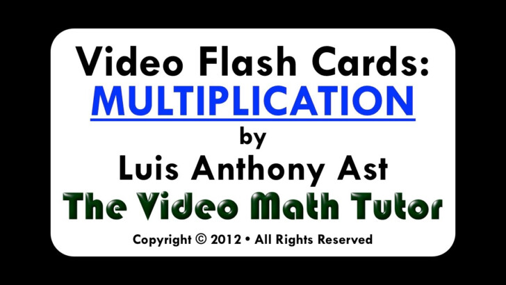Multiplication.com Flash Cards 2