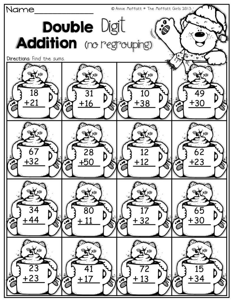Winter Math And Literacy Packet (First Grade) | First Grade