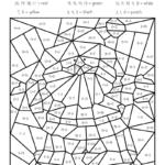 Worksheet ~ Worksheet Christmas Maths Colournumbers