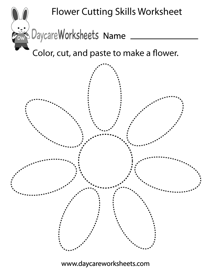 10 Best Images Of Preschool Cut And Paste Shape Worksheets
