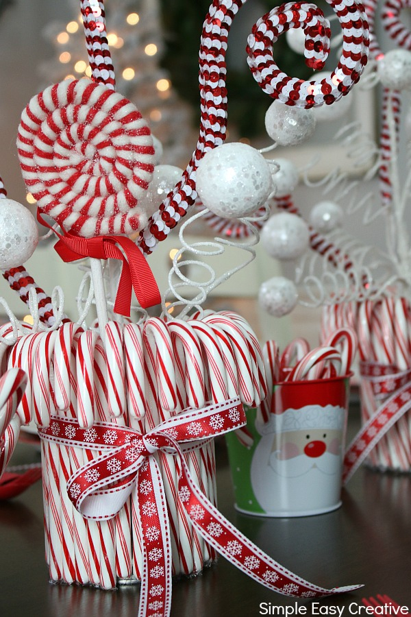 Christmas Table Centerpieces Hoosier Homemade
