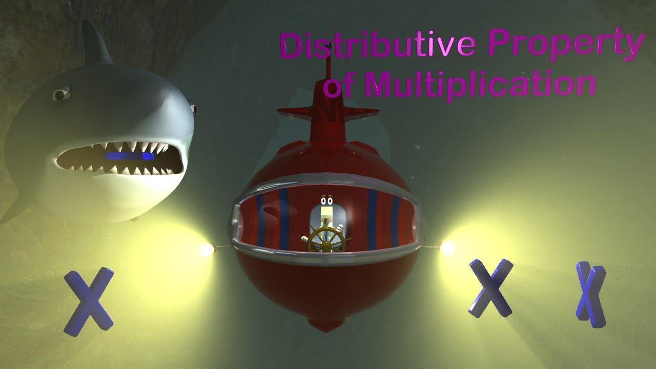 Distributive Property Of Multiplication 3rd Grade Math