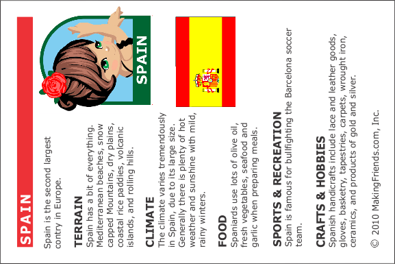 Facts About Spain MakingFriends
