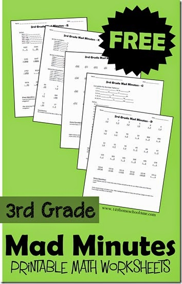 Printable Multiplication Worksheets 3rd Grade