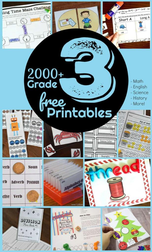FREE 3rd Grade Worksheets