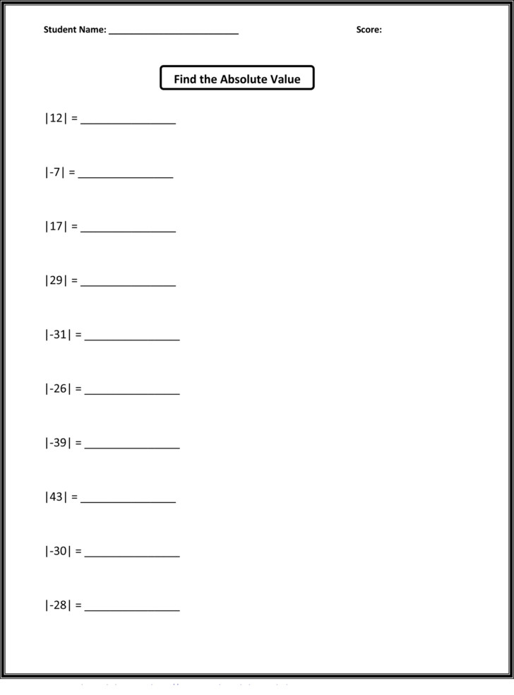 Multiplication Worksheets For Grade 5 Printable