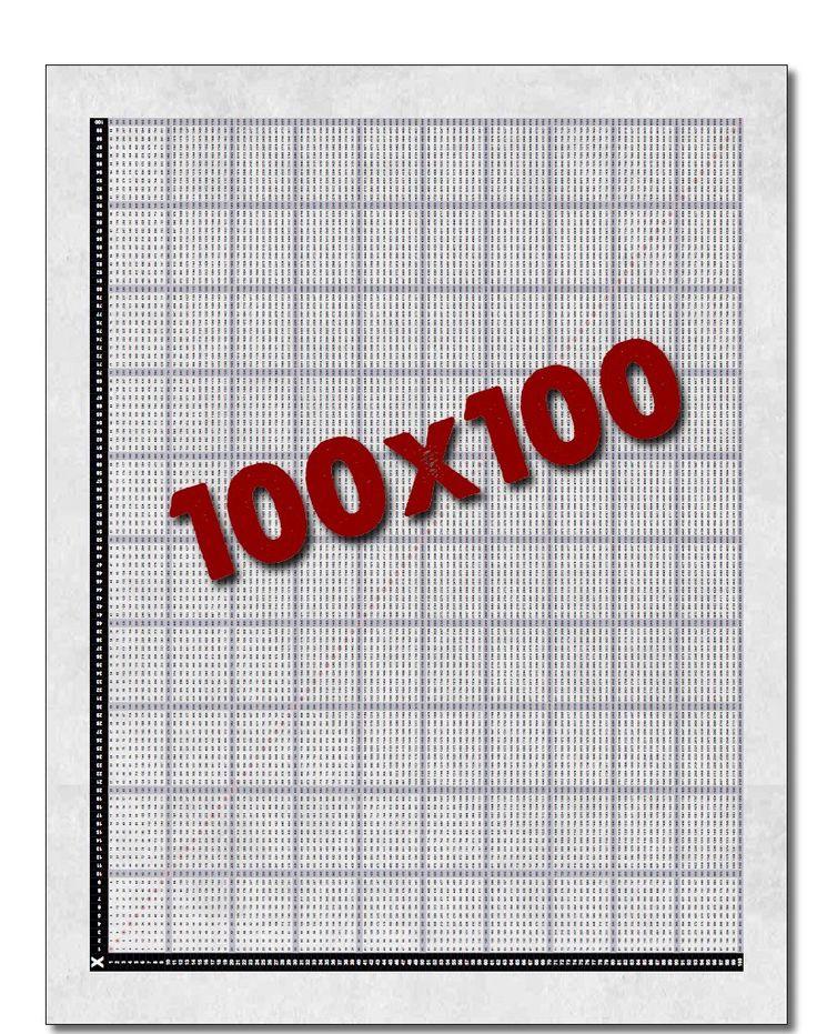 It s Big It s Huge It s The Multiplication Chart 100x100