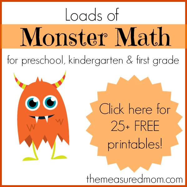 Monster Math Games Activities With Loads Of Free