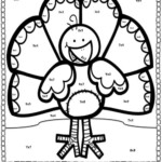 Multiplication Facts Coloring Pages Coloring Home
