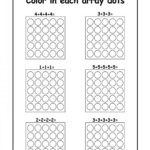 Repeated Addition Arrays Activities For Year 1 2 3