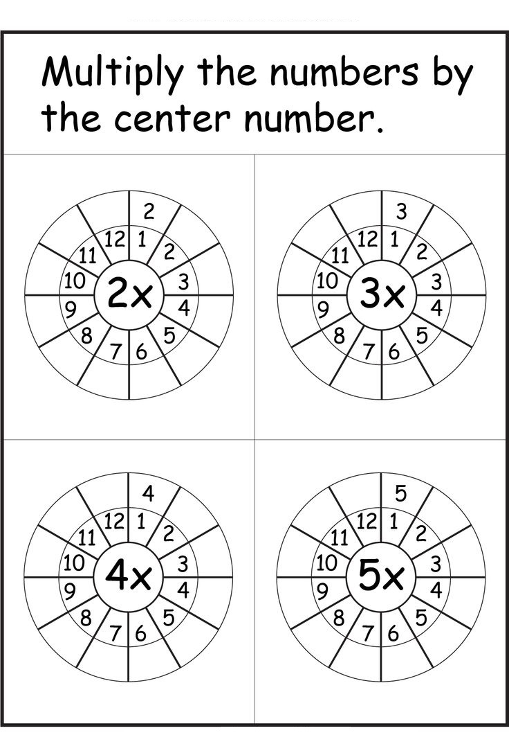 Times Tables Worksheets 1 12 101 Printable